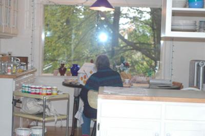 Diane at Work