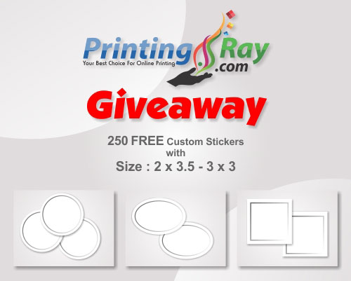 Ray Printing stickers