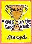 Keep It Up Award