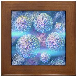 Outer Flow III-Framed Tile