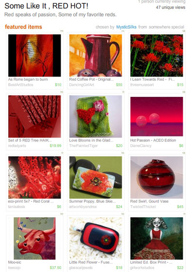Some like it, RED HOT! Treasury