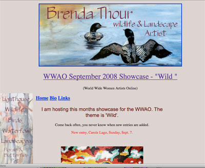 Wild, September WWAO Exhibit