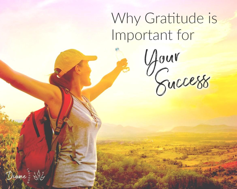 Gratitude for Success