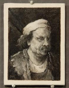 Bijzondere miniaturen: Expositie Slot Zeist van Diane Meyboom - De Portretjes van Rembrandt -5