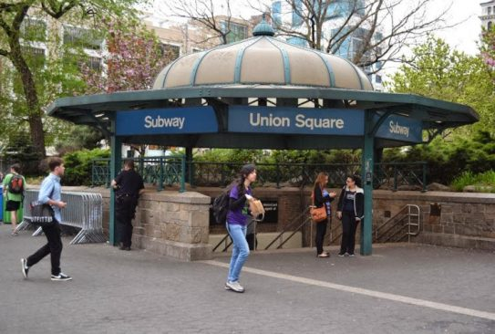 Union Square subway stop, near Diane Spear's office, photo by Lauren Puglisi Manhattan, NYC office location