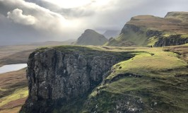 Scotland Revisited: Image of the Qu'raing on the Isle of Skye.