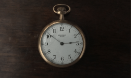 Time management 101: image of antique pocket watch