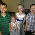Luke Musselman, Gabriella and Juilanna Poe and Lane Musselman