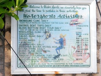 The watersports board