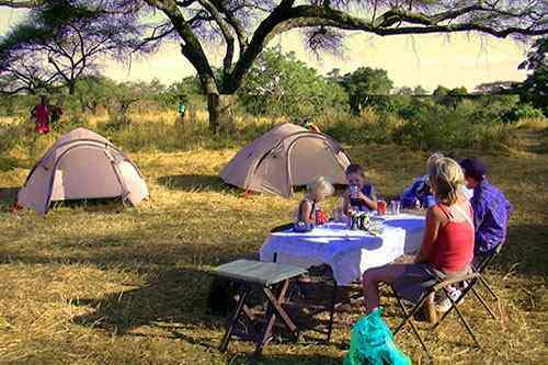 Safaris camping Tsavo