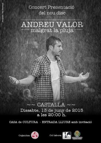 Andreu Valor Castalla Concert