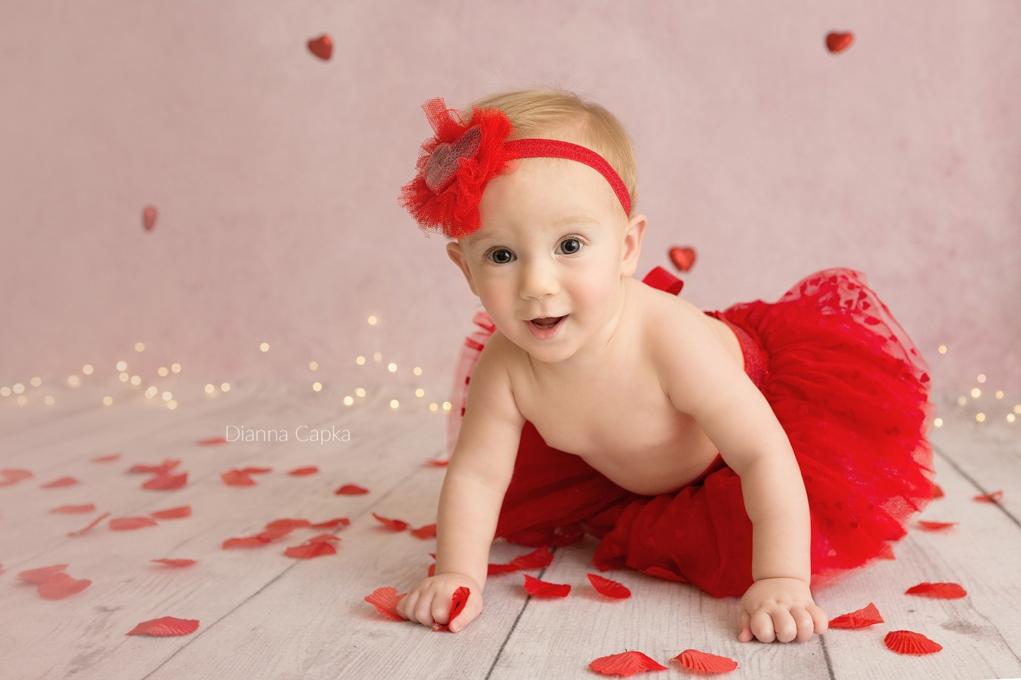 Valentine's Day Mini - Evie Lancaster PA baby photographer