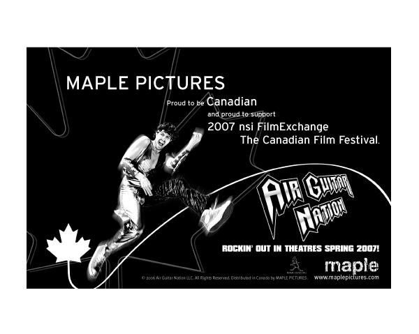 Ad for nsi FilmExchange program: Maple Pictures