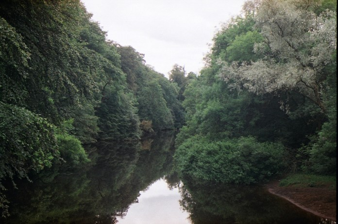 The River Kelvin, Glasgow