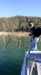 Stick fish at Lake Eildon