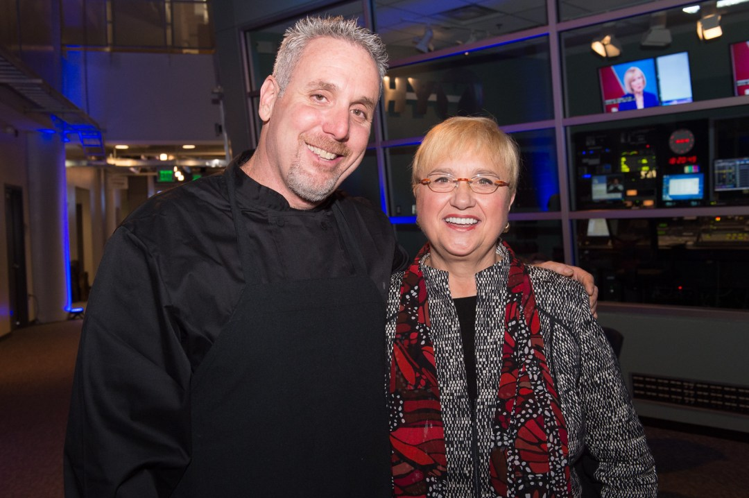 John with Lidia Bastianich
