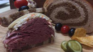 Corned Beef Sandwich for Uber Eats