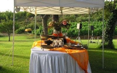 Outdoor Wedding Food Trends