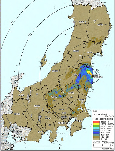 Almost Half Of Japan Polluted By Radiation DiaNukeorg - Japan map radiation