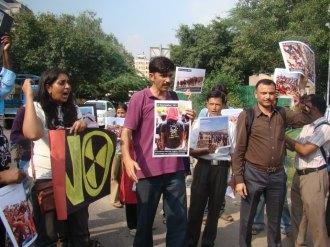 Koodankulam Protest in Delhi September 20 2012-1