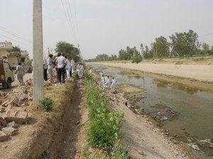 Bhakhra Canal near Gorakhpur supposed to provide water for the reactor dried up in the summer this year.