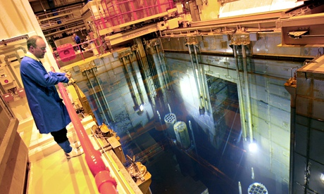 Sellafield, where most of the UK's nuclear waste is currently stored. Photograph: Odd Andersen/AFP/Getty Images