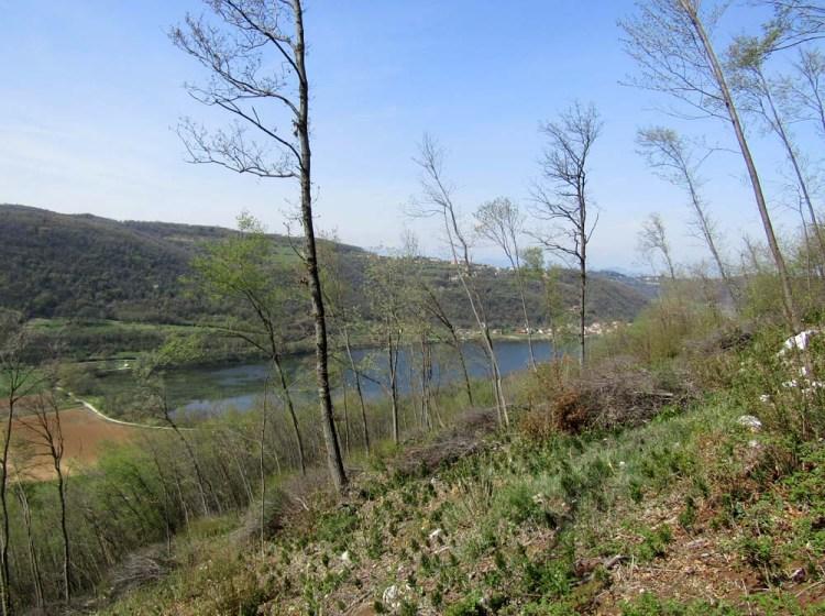vista sul lago di Fimon