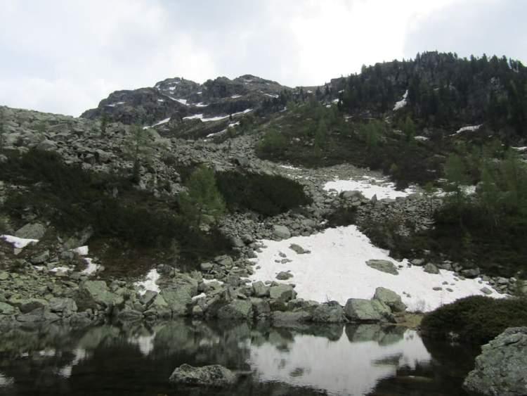 laghi della valle d'Inferno