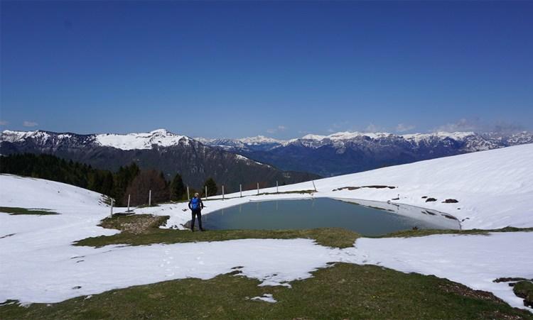 vetta del monte Zogo