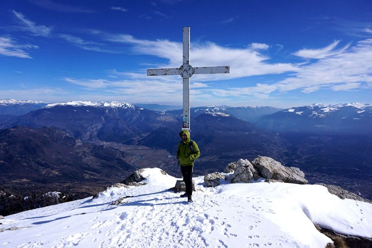 Monte Stivo in Inverno