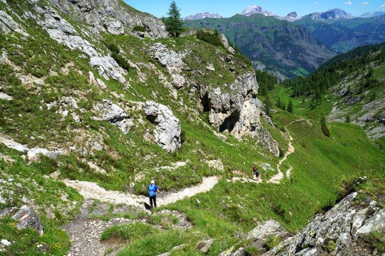 Trekking ad anello Lach dei Negher