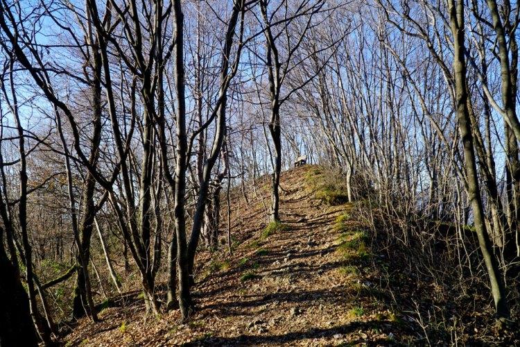sentiero delle due rocche
