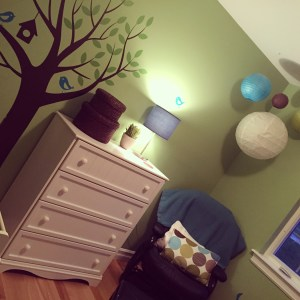decal, nursery decor, tree