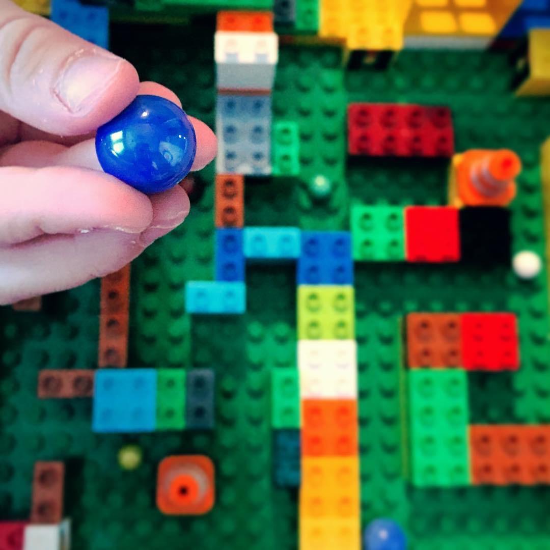 Lego Series - Duplo Marble Maze