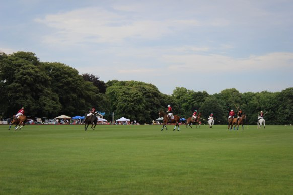 polo match Newport, RI