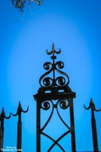 Charleston iron gate