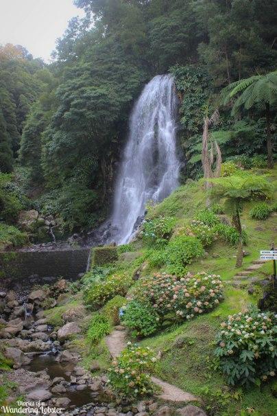 Sao Miguel waterfall