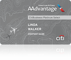 Citi AAdvantage credit card