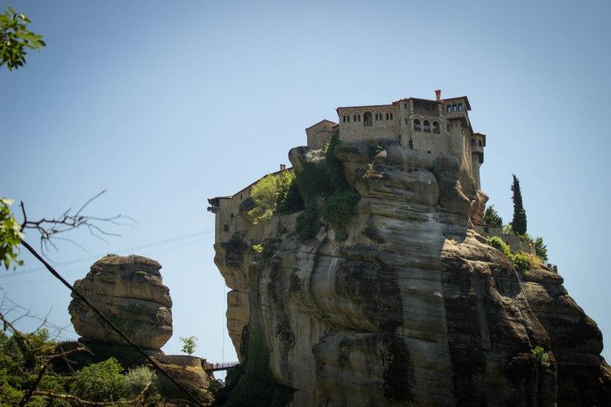 Great Meteoran Monastery Meteora Greece