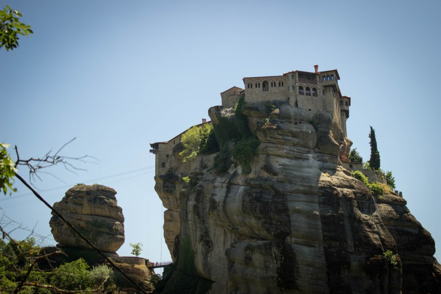 Great Meteoran Monastery Meteora Greece