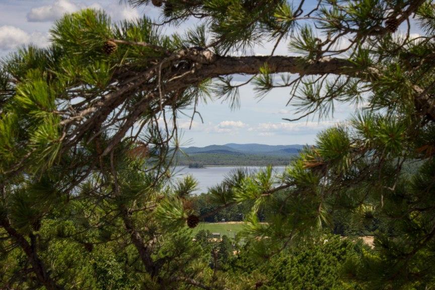 Jockey Cap summit Fryeburg Maine