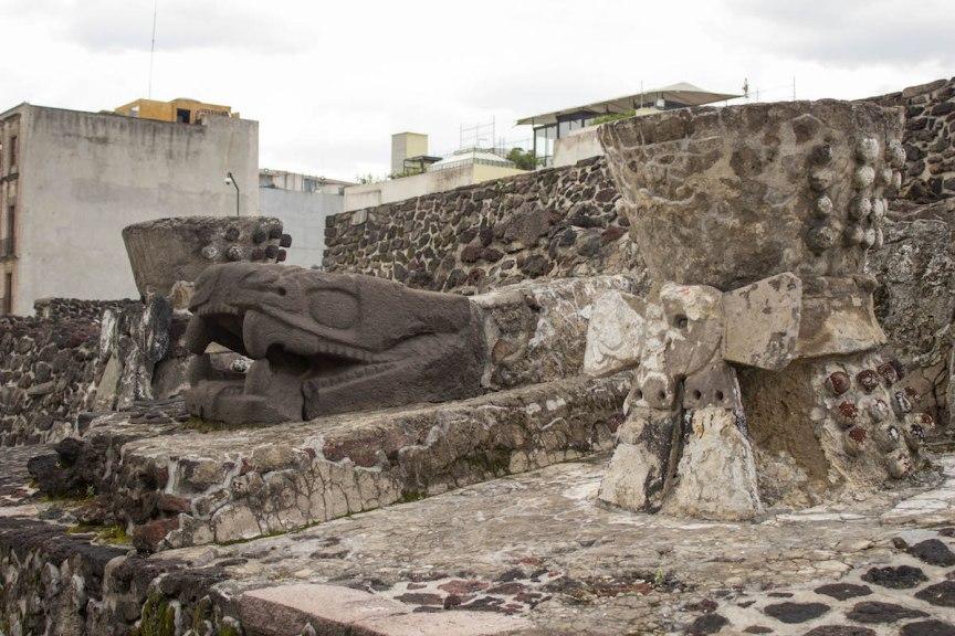 Templo Major ruins Mexico City