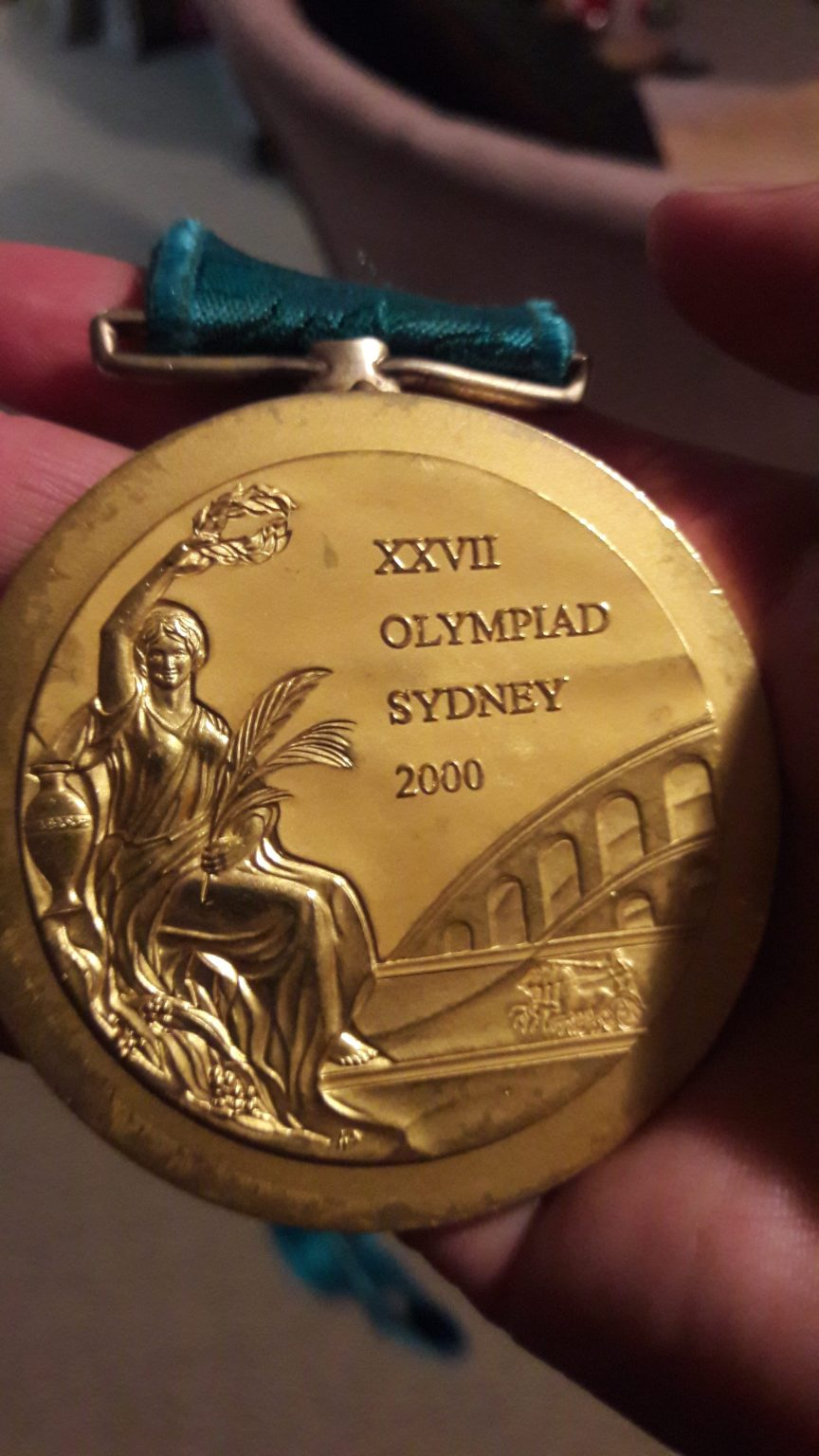 [img] Sydney Olympic gold medal