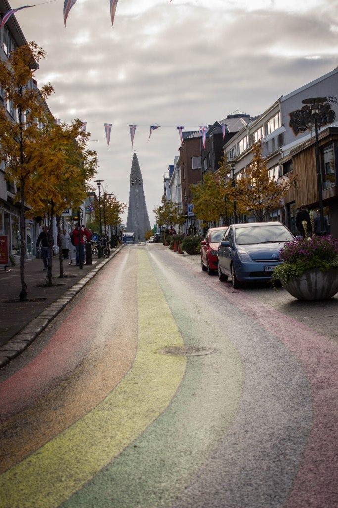 [img] Reykjavik Rainbow Road free walking tour in iceland