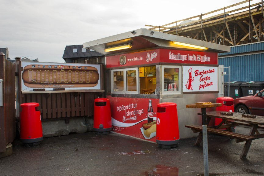 [img] Reykjavik Hot Dog Stand how to spend 4 days in Iceland