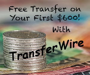TransferWire Free Credit