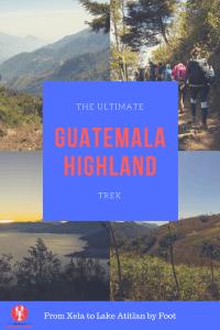[img] Xela to Lake Atitlan Pinterest graphic