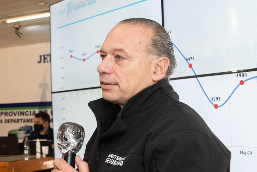 Sergio Berni, ministro de seguridad, provincia de Buenos Aires, NA