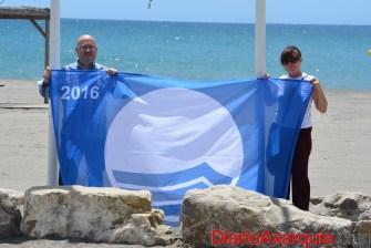 bandera azul Atencia y Roberto (1)