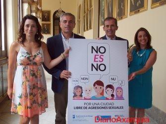 El Colegio de Abogados colabora en la campaña municipal 'No es no' para prevenir y combatir las agresiones sexuales